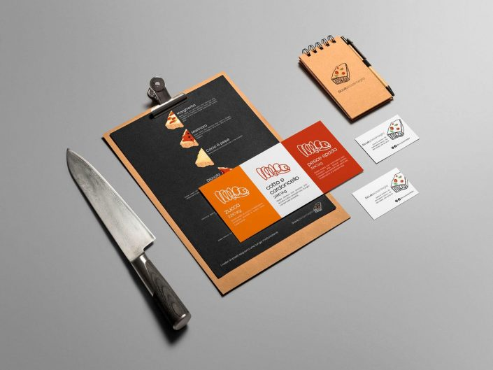 Sciuè Pizza in Teglia – Branding